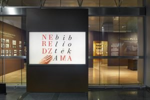 The Invisible Libraries' exhibition at the National Library of Latvia © Madara Gritāne, 2020